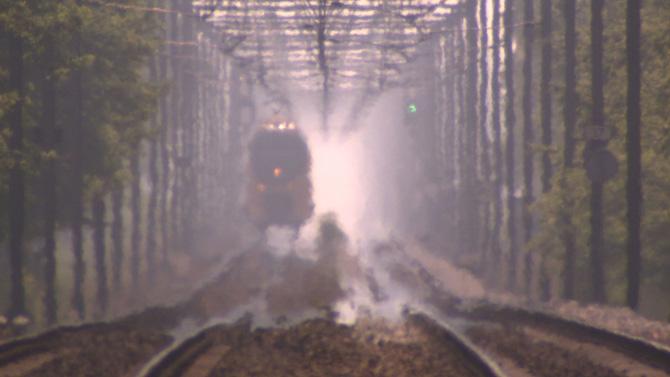 Zomer op het spoor