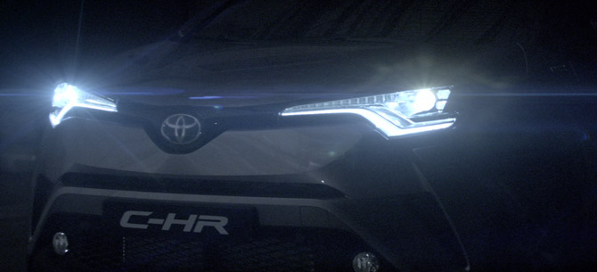 Toyota CHR TVC